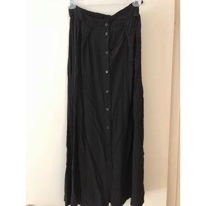 black brandy melville maxi skirt